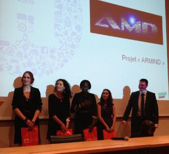 L'équipe du projet Armind
