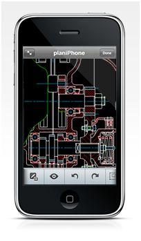 AutoCAD sur l'iPhone