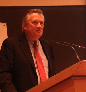Image: Axel Leblois, G3ict President and Founder, Opening Keynote at Défi H 2013