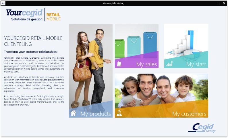 Yourcegid Retail Mobile Clienteling Y2