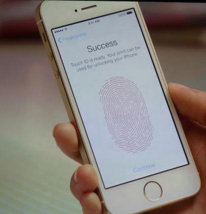 L'iPhone 5S est dot� d'un lecteur d'empreintes digitales