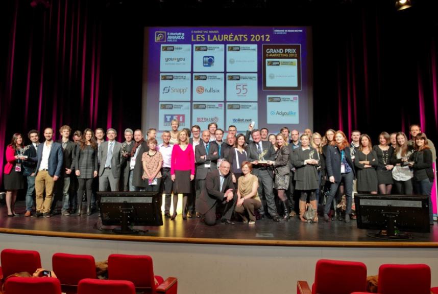 Les lauréats des E-Marketing Awards 2012