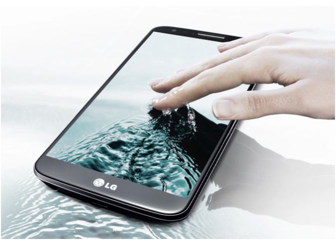 LG G2 face avant