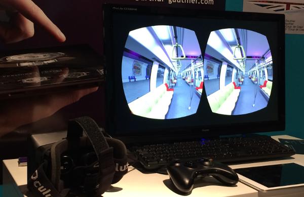 Les casques Oculus étaient très présents sur Laval Virtual