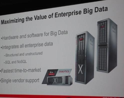 Oracle Big Data Appliance, Exadata, Exalytics