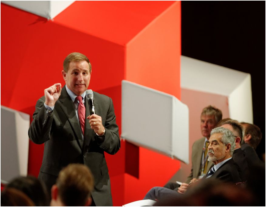 Mark Hurd sur CloudWorld,  Munich