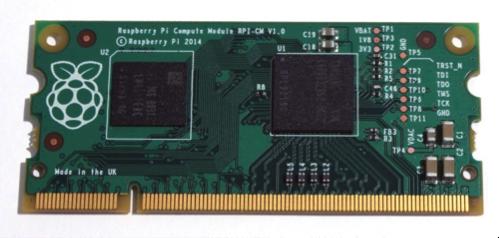 Raspberry PI pr�sente son module embarqu�