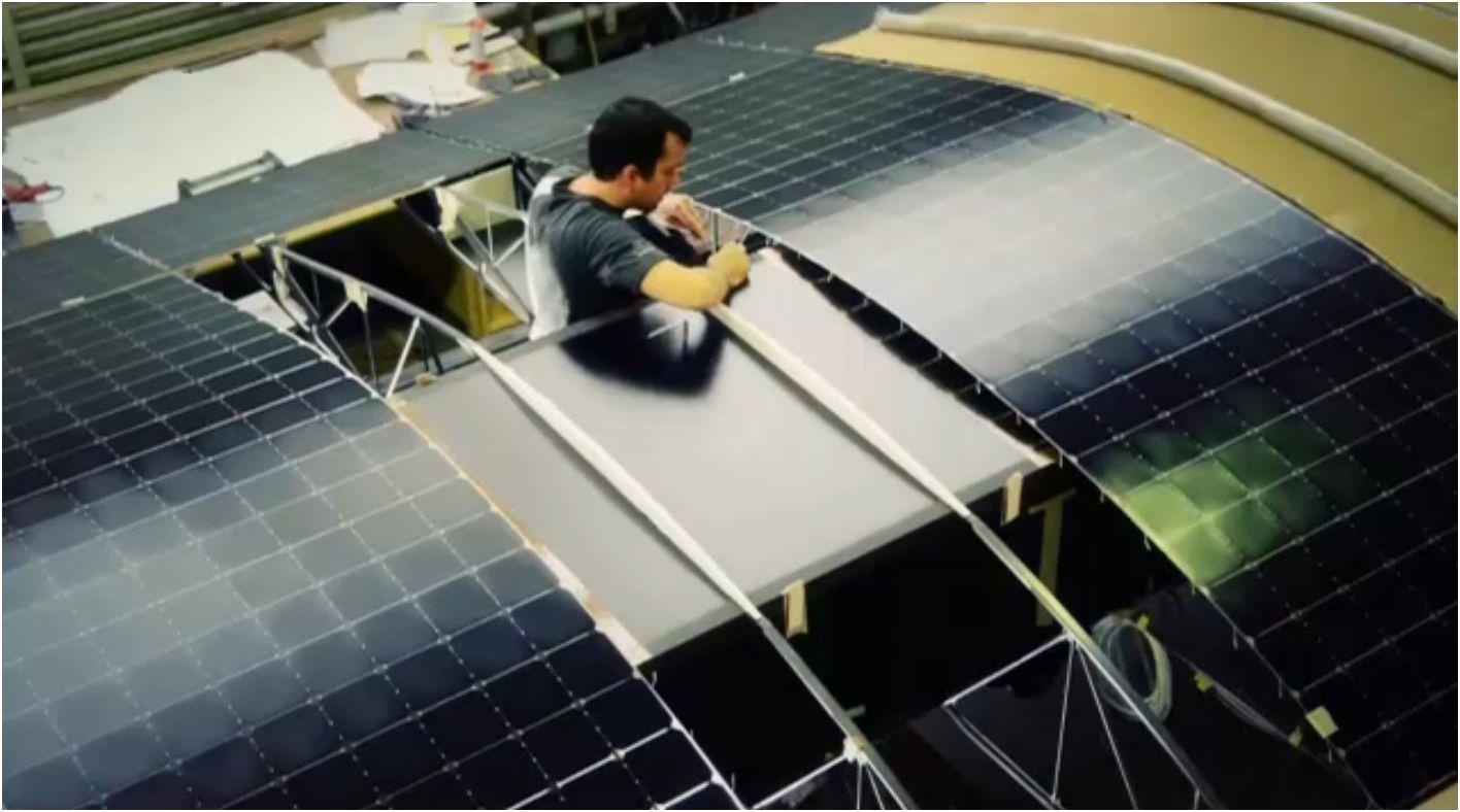 17 000 cellules solaires pour le Solar Impulse 2