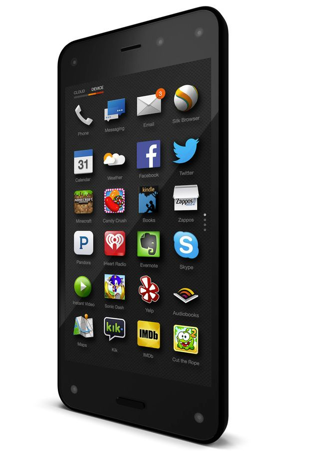 Le smartphone Fire d'Amazon