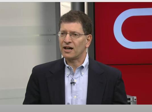 Andy Mendelsohn, senior vice-président, responsable des technologies serveurs d'Oracle lors de l'annonce.