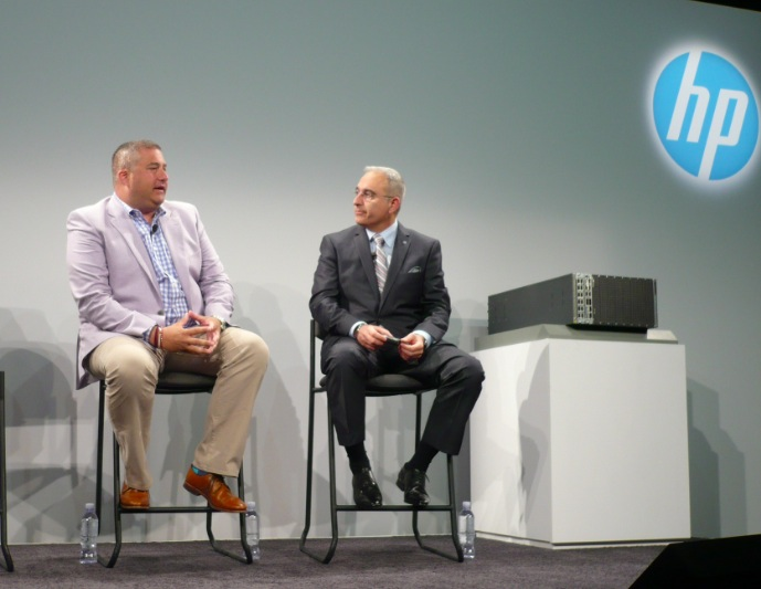 Jason Cohen, DAS Group, et Antonio Neri, DG Serveurs et réseaux de HP