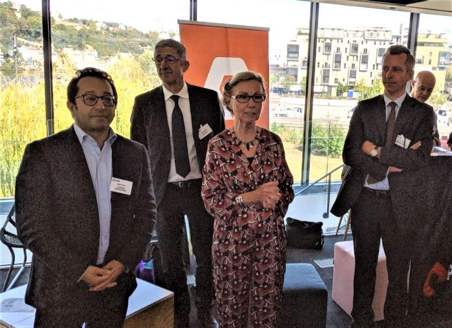 Adira, Clusir Rhône-Alpes et Club 27001 sur l'IT Tour 2019 Lyon