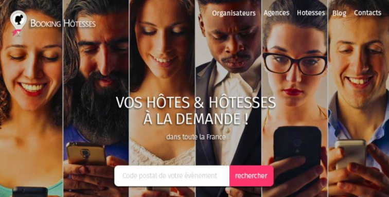 Booking Hôtesses
