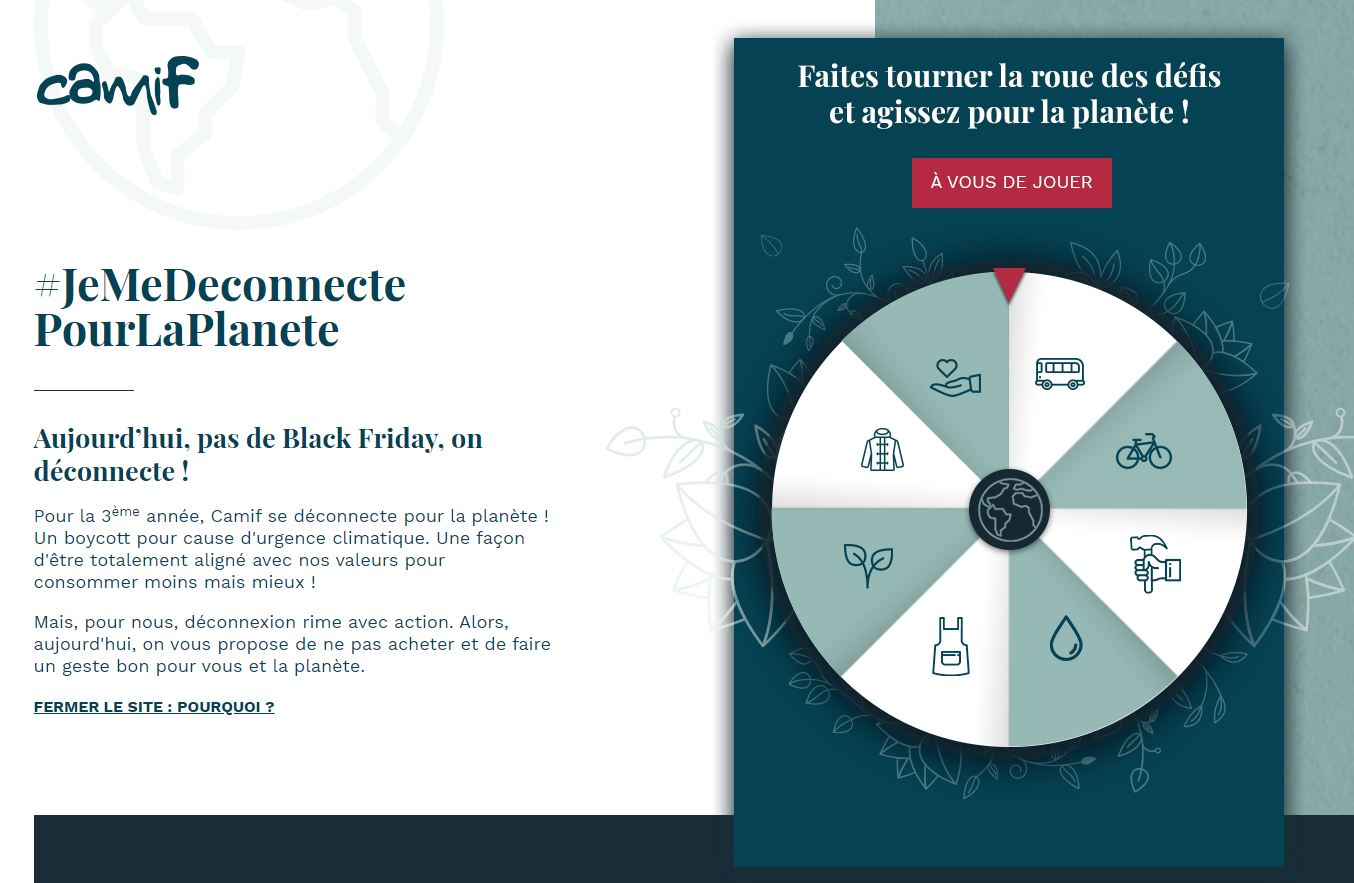Black Friday Camif