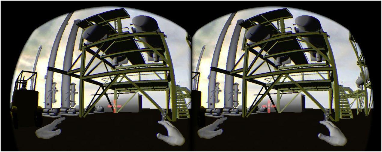 Dans le Lab'Innovation de Capgemini, une usine vue en réalité virtuelle à travers le casque Oculus Rift