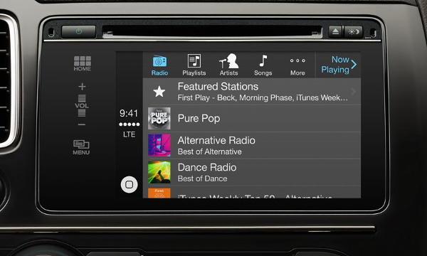 Lire la musique avec CarPlay