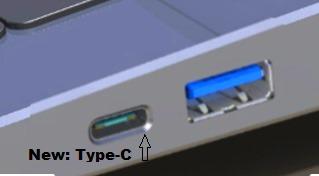 USB 3.1, Premières images de l'USB 3.1, universellement réversible.