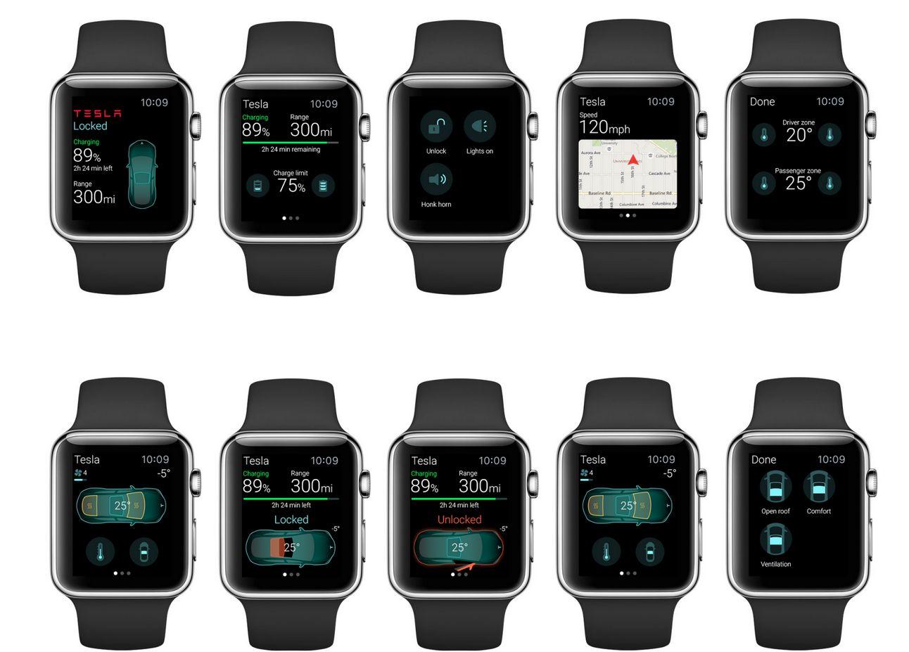 App d'Eleks pour la Watch d'Apple