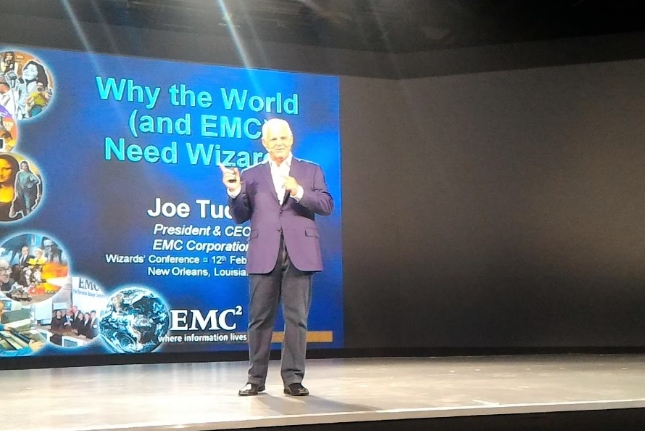 Joe Tucci à EMC World 2016