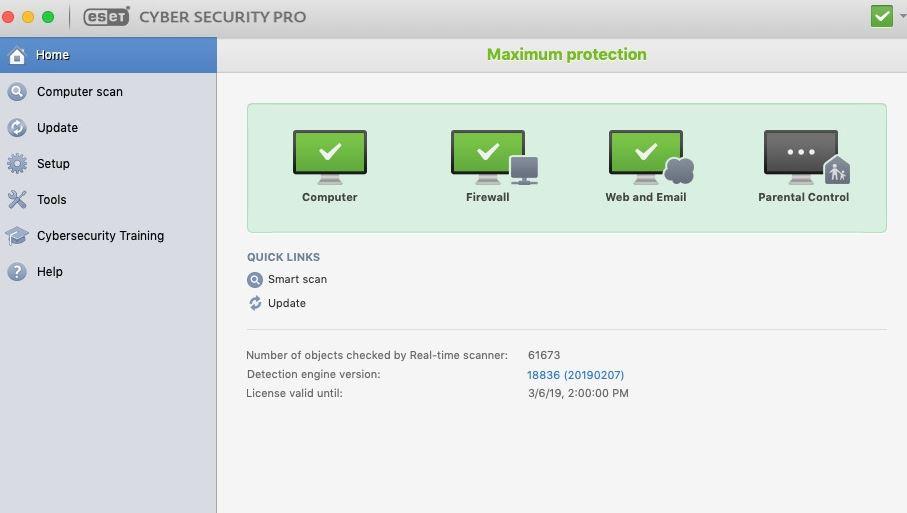 Eset CSP pour Mac