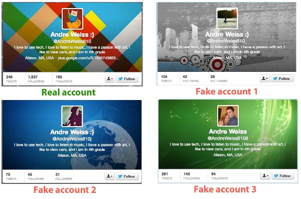 Techniques pour cr�er des faux followers