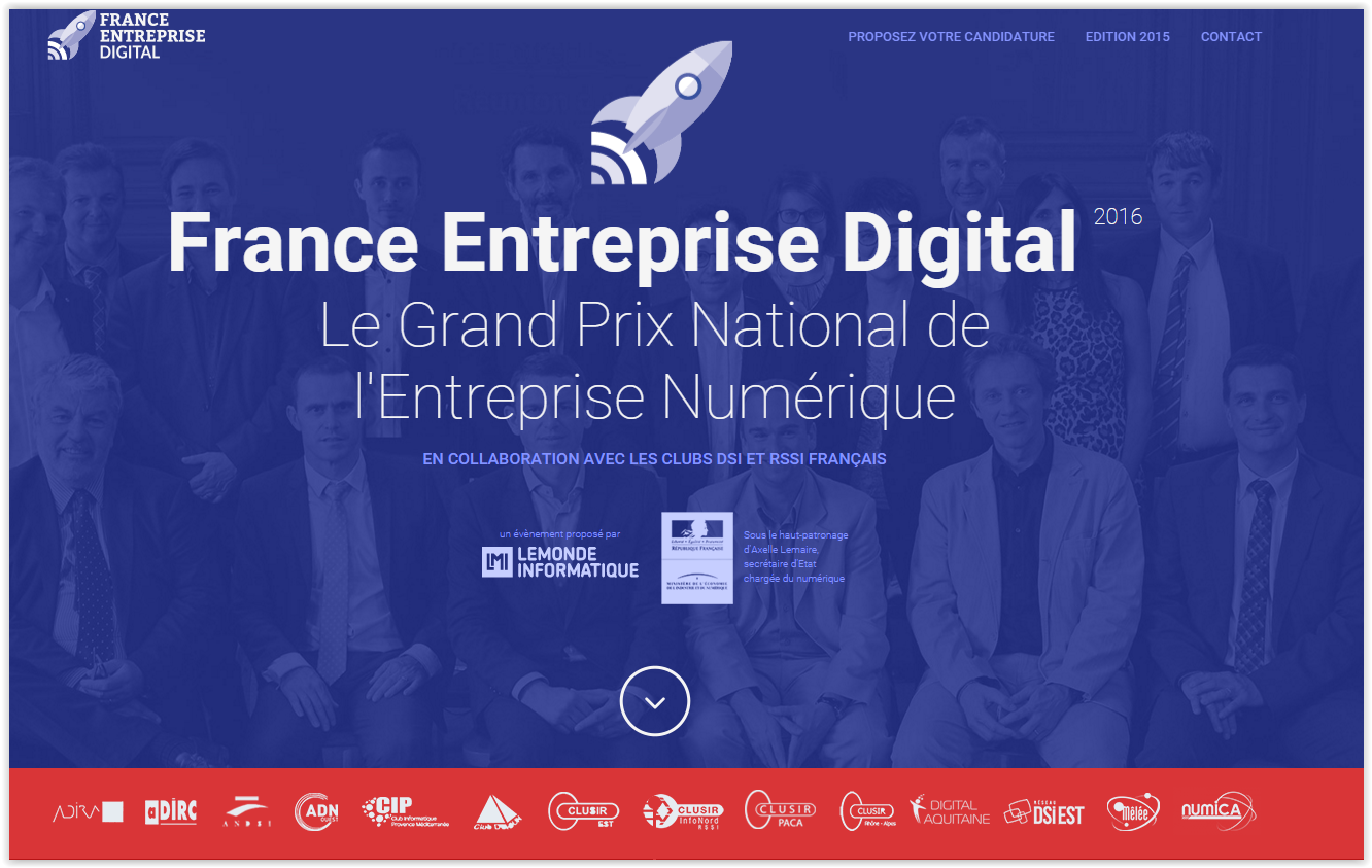 France Entreprise Digital 2016
