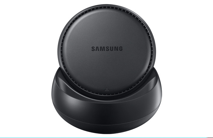 Le dock DeX permet d'utiliser son Galaxy S8 comme un PC avec l'ajout d'un clavier, d'une souris et d'un écran.