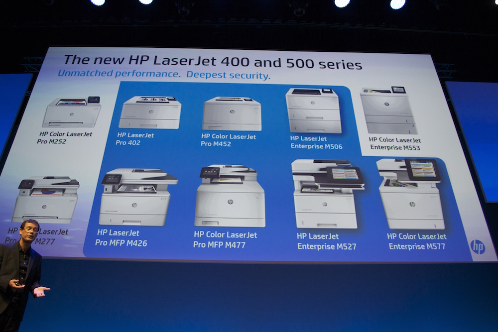 La gamme HP LaserJet 500