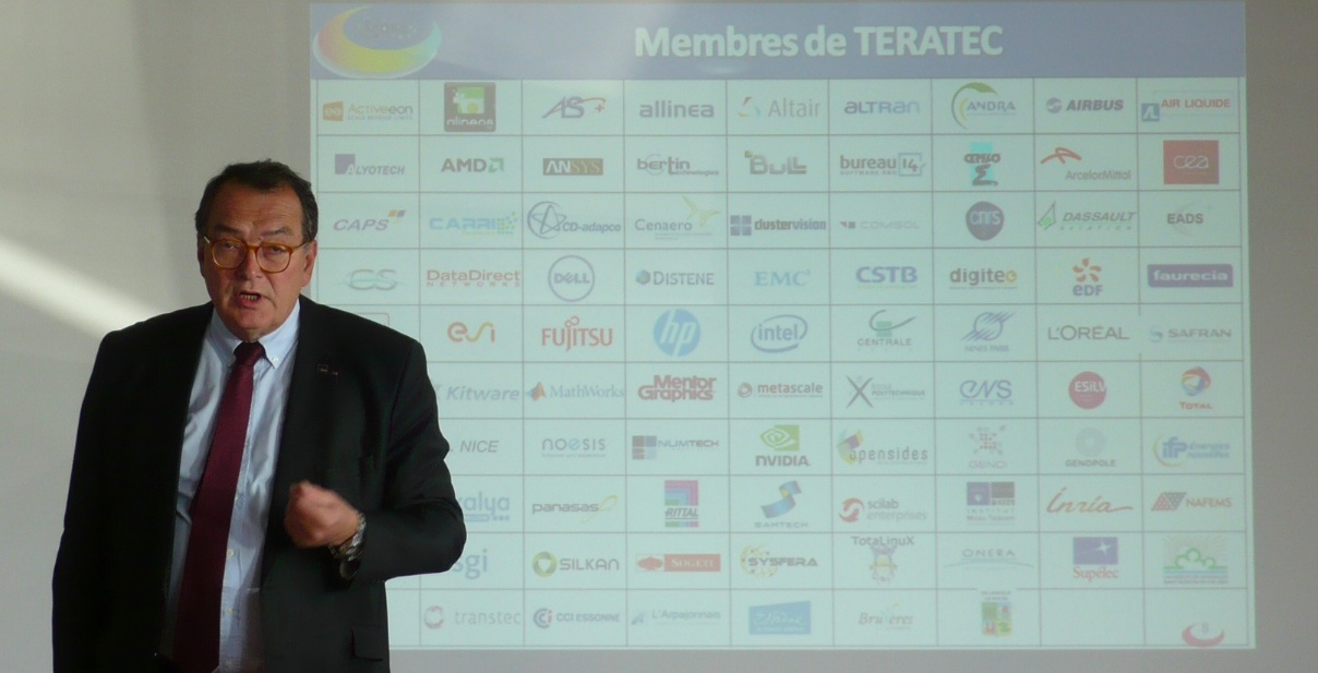 Gérard Roucairol, président de Teratec