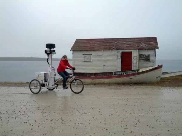 Google Street View chez les Inuits
