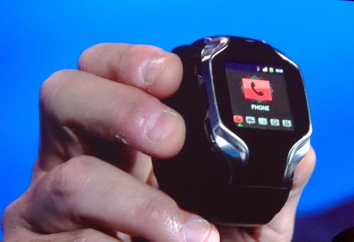La montre connectée d'Intel