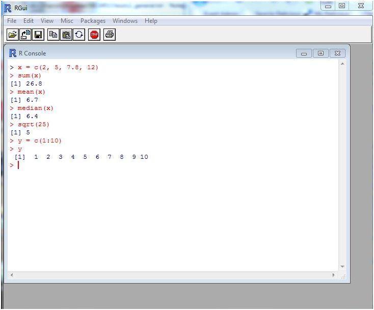 Projet R, langage pour l'analyse statistique