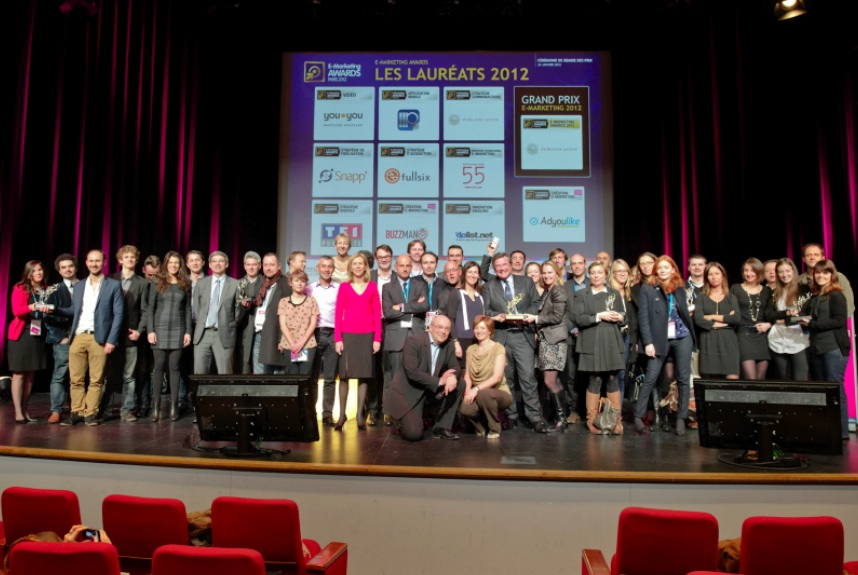 Les lauréats des E-Marketing Awards 2012