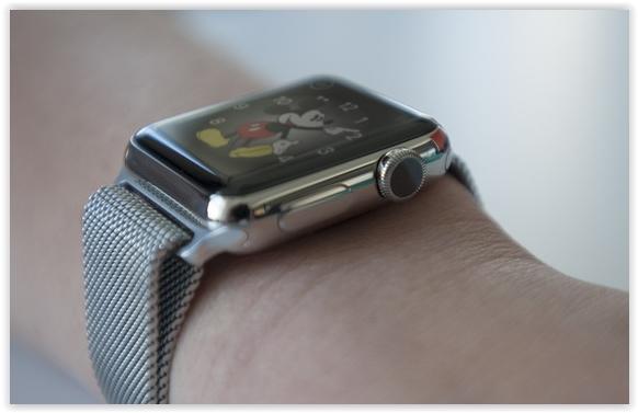 Apple Watch molette
