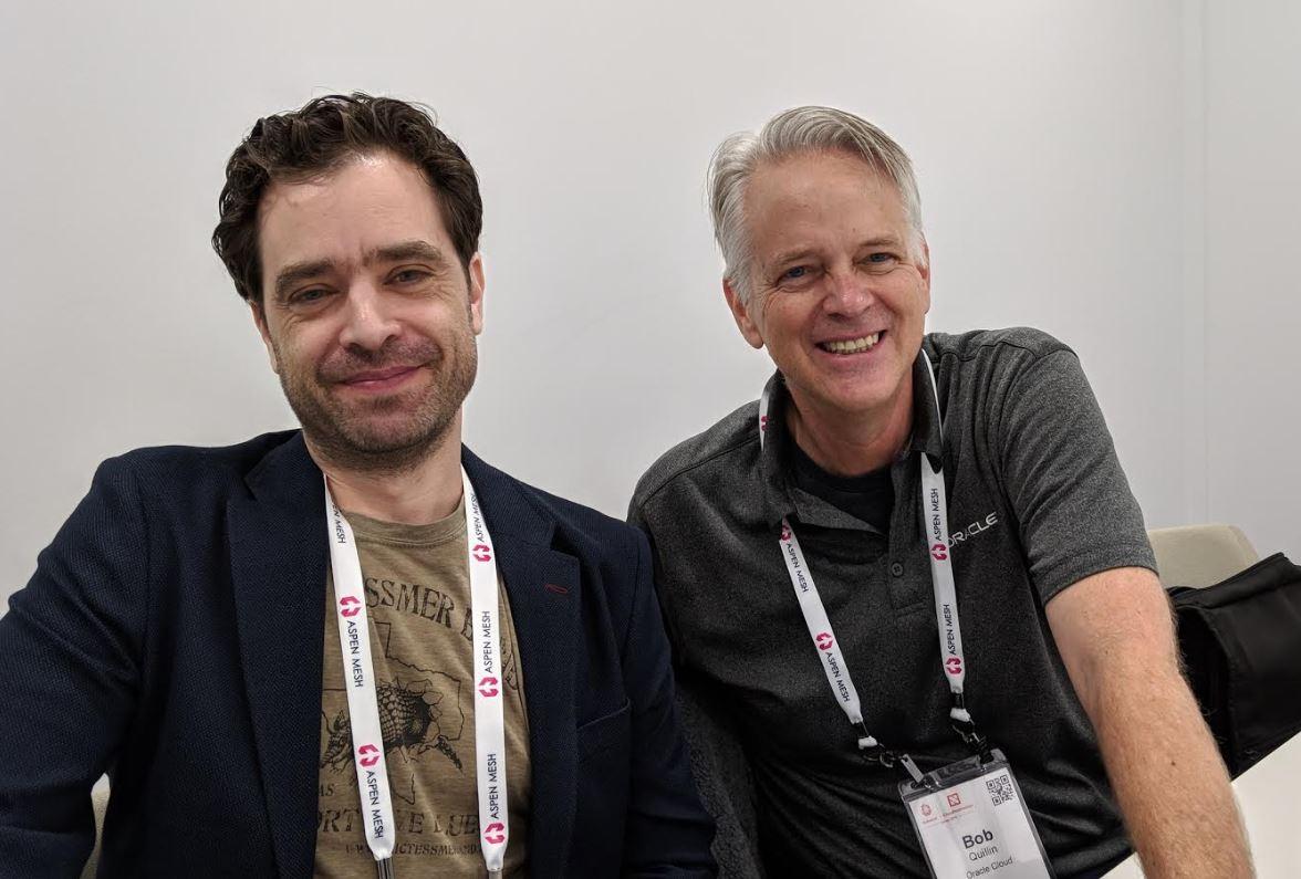 Bob Quillin et Jon Reeve (Oracle)