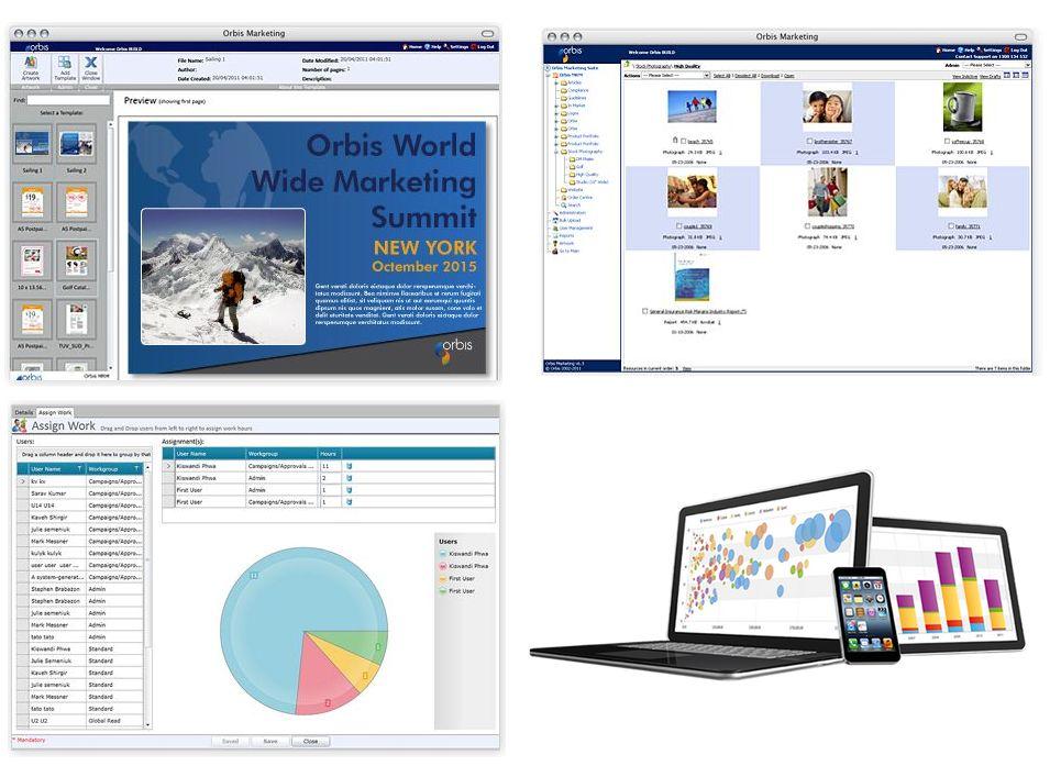 Application SaaS Orbis MRM