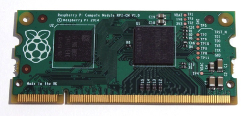 Raspberry PI présente son module embarqué