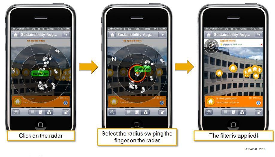 Prototype SAP BusinessObjects :application de r�alit� augment�e