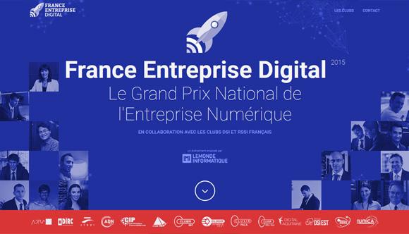 France Entreprise Digital (page d'accueil)
