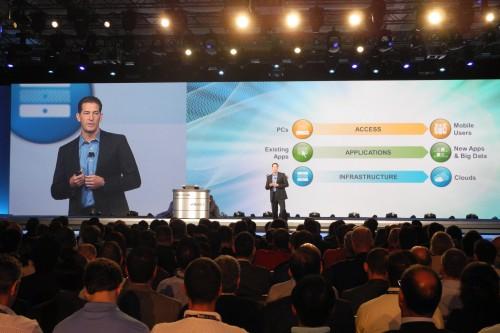 Steve Herrod présente les offres pour le end user computing
