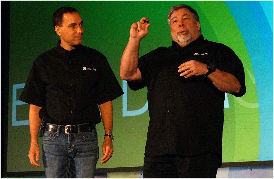 David Flynn et Steve Wozniak, de Primary Data