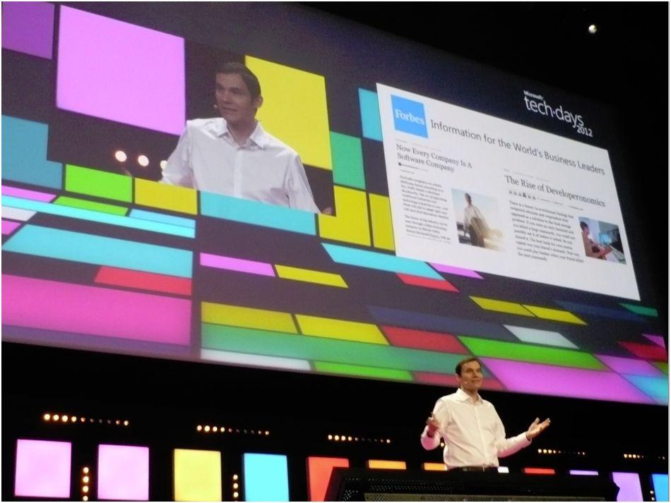 Tech.days 2012 de Microsoft