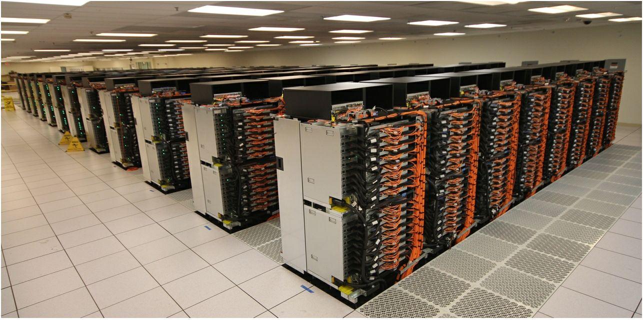 Le supercalculateur Sequoia d'iBM